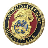 United States Army Military Police Challenge Coin