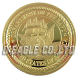 United States Navy Police Challenge Coin
