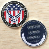 Air Force / Oath of Enlistment Challenge Coin