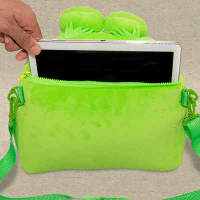 Showing bag element of iPad and tablet holder
