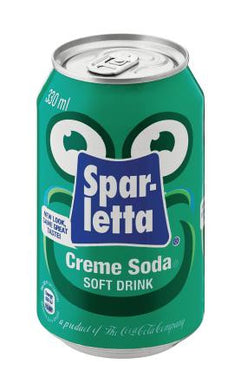 Sparletta Creme Soda - 330ml
