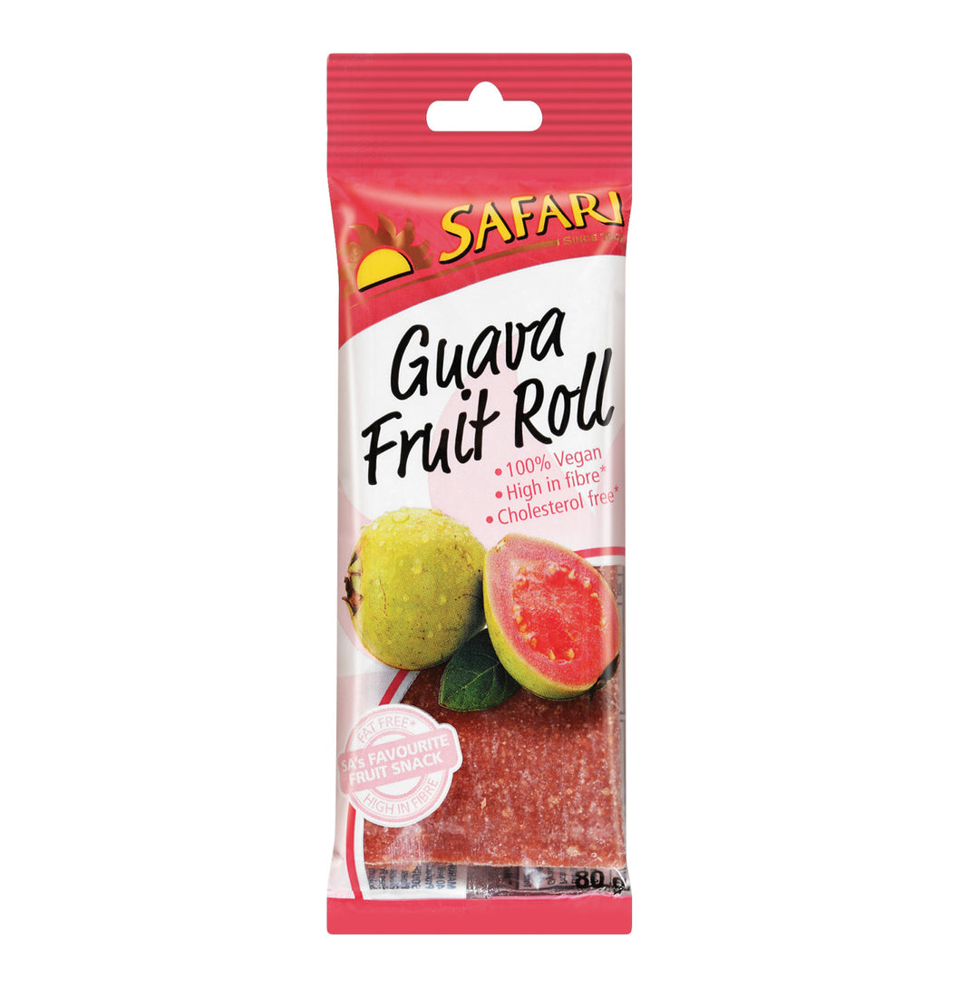 Safari Fruit Roll Guava - 80g