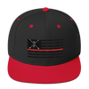 Thin Red Line - Wool Blend Snapback