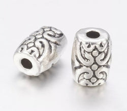 Tibetan Style Alloy Bead Spacers Antique Silver Jewellery Accessories 6mm
