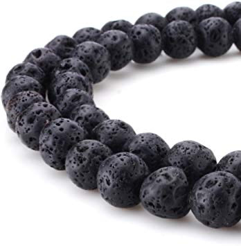 Lava Bead 6mm