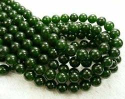 Taiwan Jade Green 6mm gemstone beads