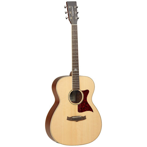 Tanglewood PREMIER TW170 SS Folk Acoustic Guitar, Natural Satin, Solid top