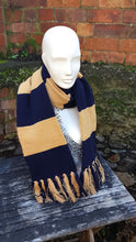 Harry Potter inspired scarf, LIGHT Ravenclaw style year 1 onwards