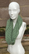 lace infinity cowl