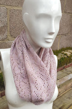 soft pink scarf