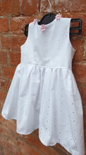 fresh broderie anglaise dress