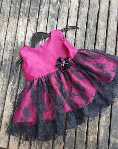 gothic baby party dress