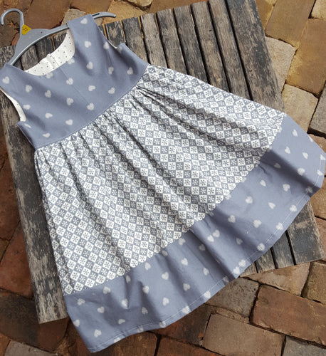 vintage feel girls dress