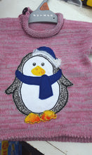 penguin applique jumper
