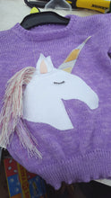 MADE TO ORDER Unicorn Jumper  you choose size and colour, Child to Adult sizes available