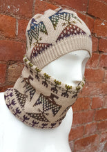 unisex hat and cowl set