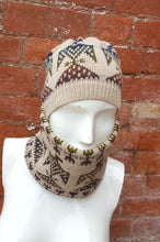 unisex ski cowl and hat set