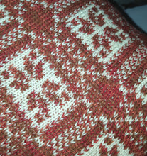 fair isle cushion cover
