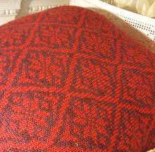 handmade fair isle cushion