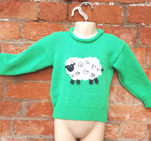 handmade sheep jumper