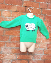 applique sheep jumper