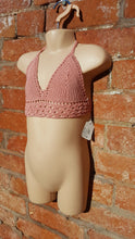 100% cotton crochet top