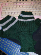 Gryffindor fingerless gloves, arm warmers, Hogwarts, Harry Potter inspired,