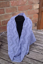 periwinkle blue infinity scarf