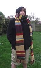 winter scarf Dr Who