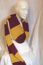 Gryffindor style year 1 onwards, Harry Potter inspired scarf,
