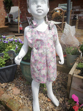 childs floral play suit
