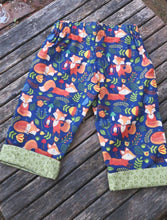 fox patterned capris