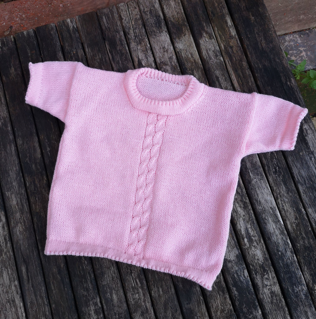 childs short sleeve jumper