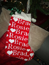 made to order Christmas stocking