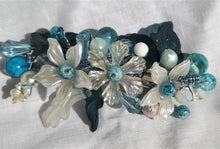 Hair Accessories, hair Barrette, beaded handmade bridal fashion, prom wear,