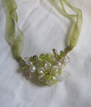 Lime zester, garland necklace