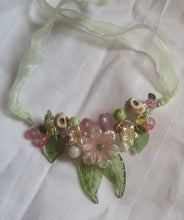 wishes garland necklace