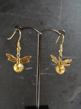 all gold hook earrings