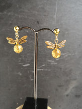 all gold with studs golden snitch earrings