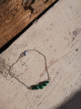 malachite simple bracelet