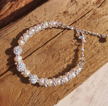 Reflection: pearl bracelet