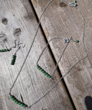moss precosia necklace set