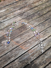 delicate hand beaded necklace