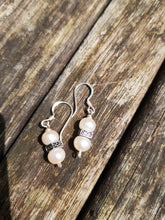 desire fresh water pearl earrings,