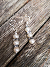 devotion fresh water pearl earrings