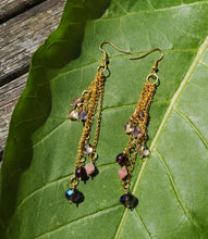 magical cascade earrings
