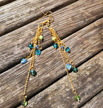 Delightful cascade earrings,