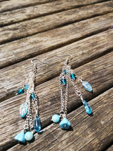 lagoon Cascade earrings