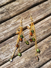 Amazonian Cascade earrings