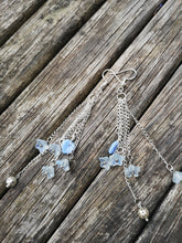 Icy Cascade earrings